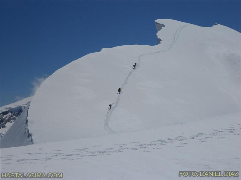 Arista del Breithorn central